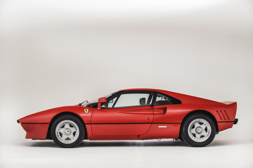 1985 Ferrari 288 Gto side profile