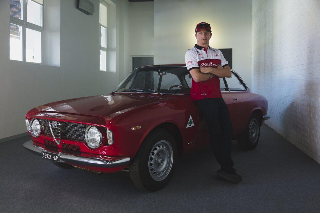 Kimi Raikonnen and Alfa GTA