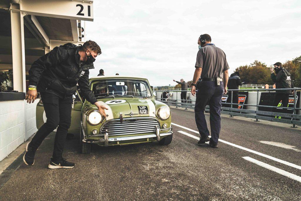 goodwood speedweek mini racecar pitlane