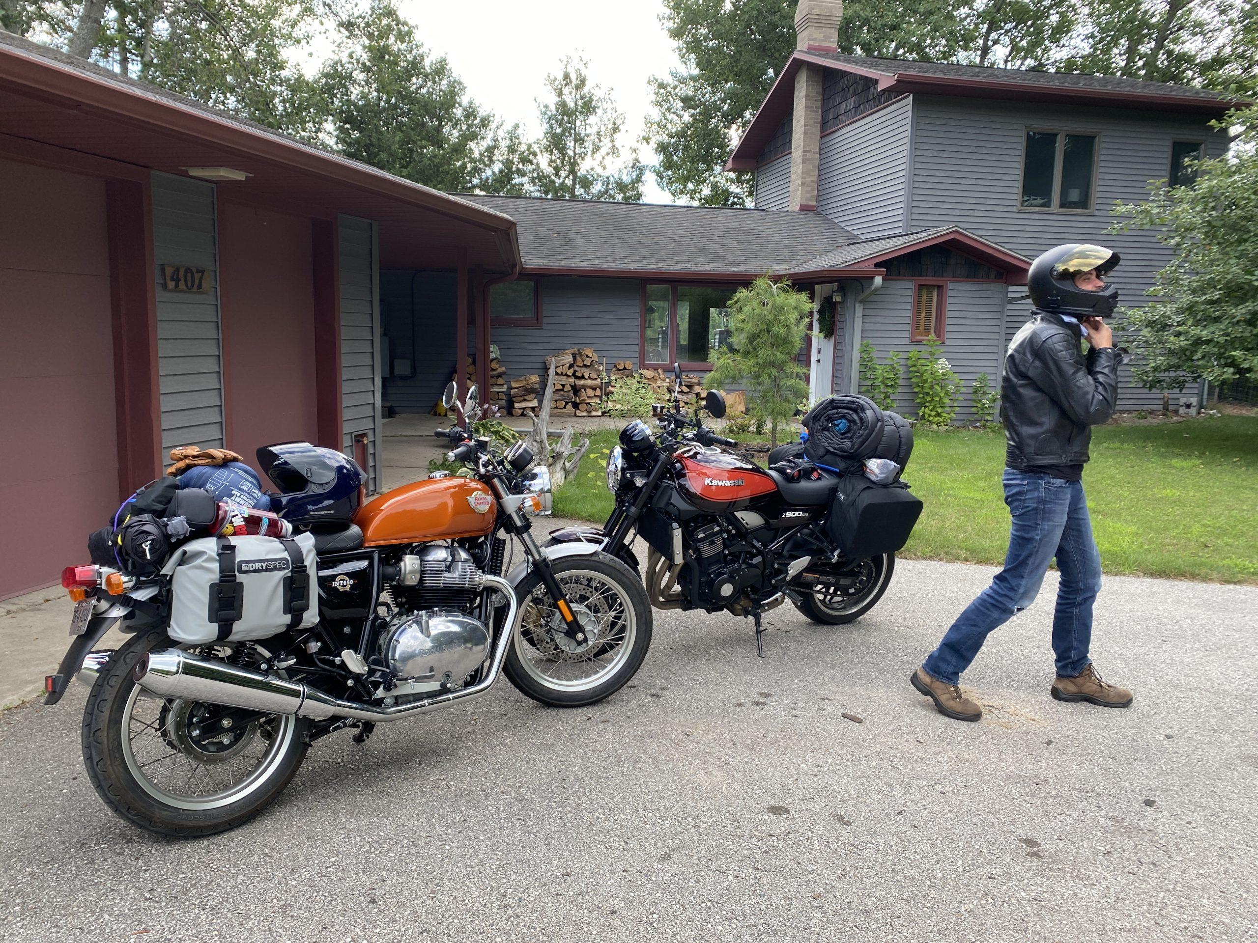 gingerman moto trip bikes with luggage 4