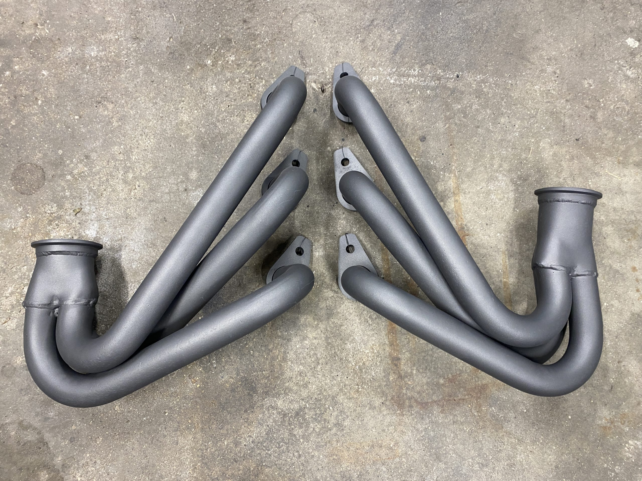 Chevrolet Corvair Headers cerakote pair