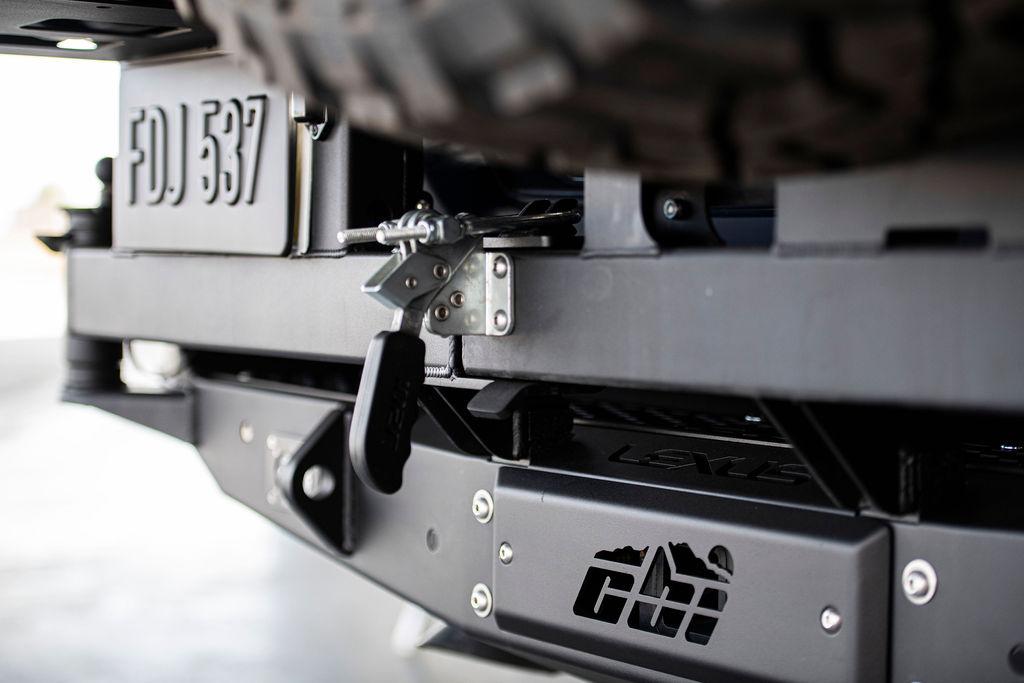 Lexus J201 Concept rear bumper details