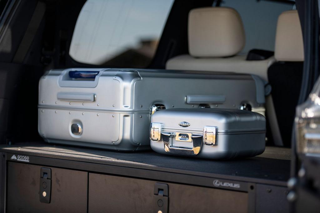 Lexus J201 Concept zero haliburton cases