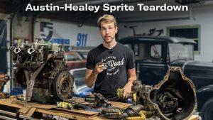 Tearing into the Austin Healey Sprite   Kyles Garage – Ep. 15