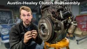 Austin-Healey clutch reassembly | Kyle's Garage – Episode 16