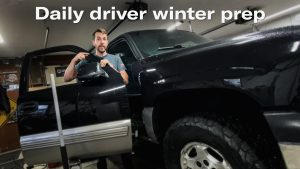 Winter prep for the daily-driver Chevy Pickup   Kyle's Garage – Ep. 18