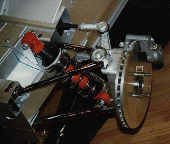 lotus s1 brake suspension setup