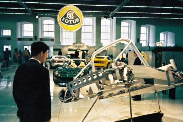 lotus elise aluminium chassis