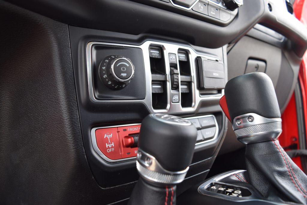 factory-backedMopar trailer brake controller panel