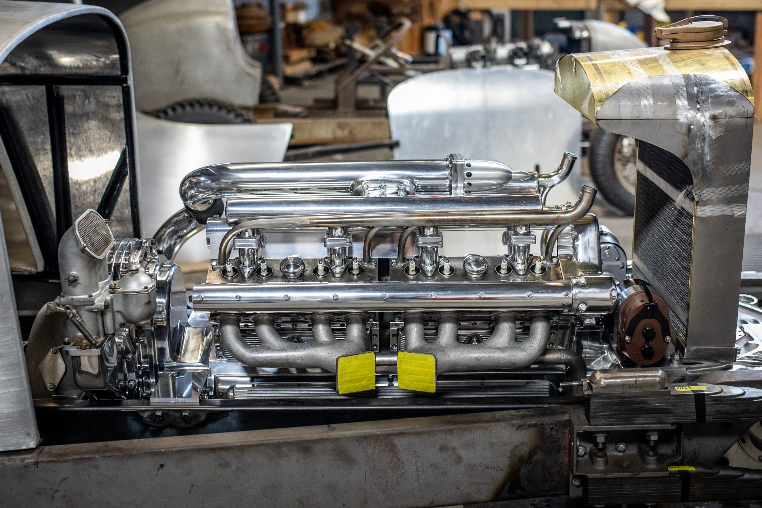 machined engine