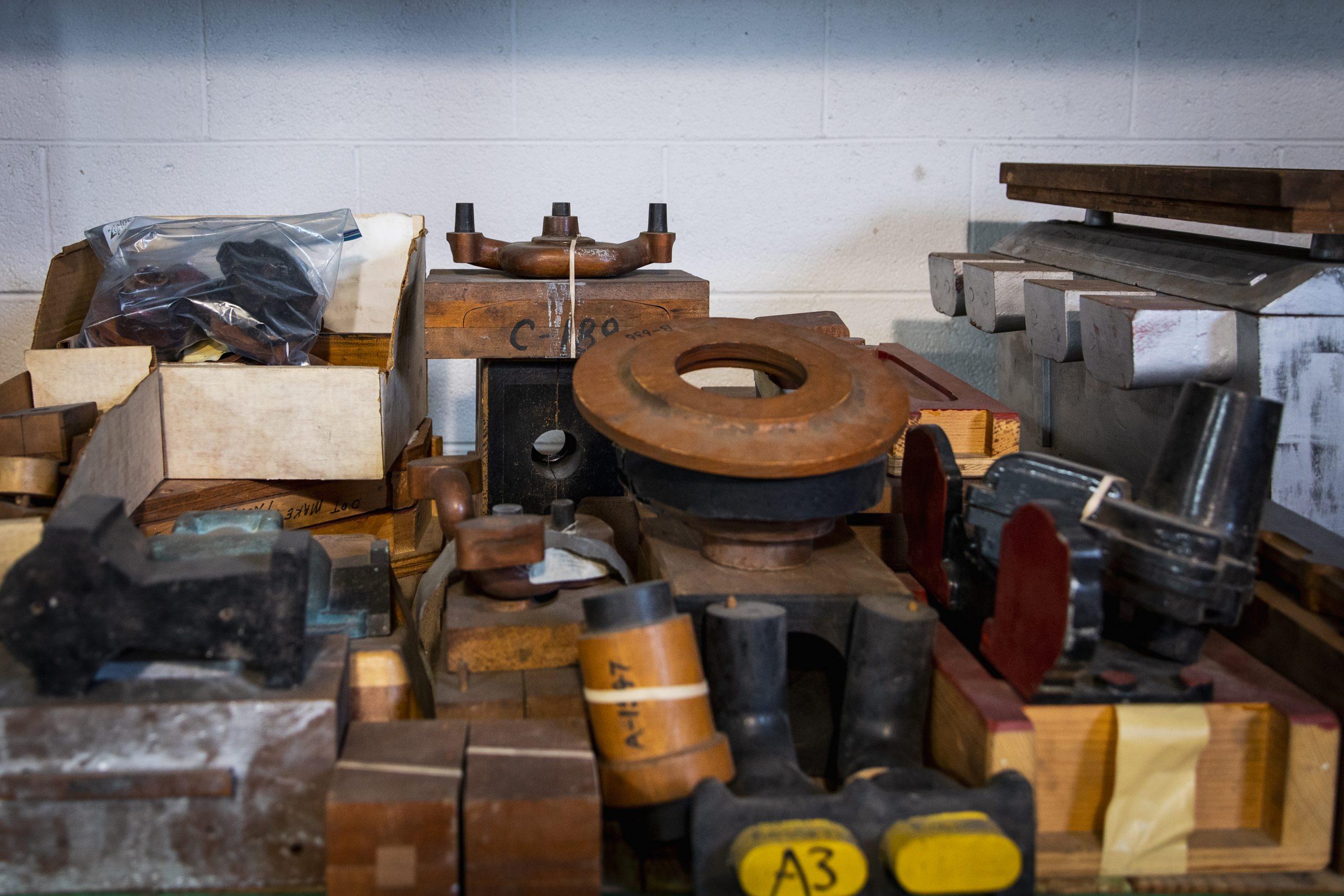 vintage miller racing parts