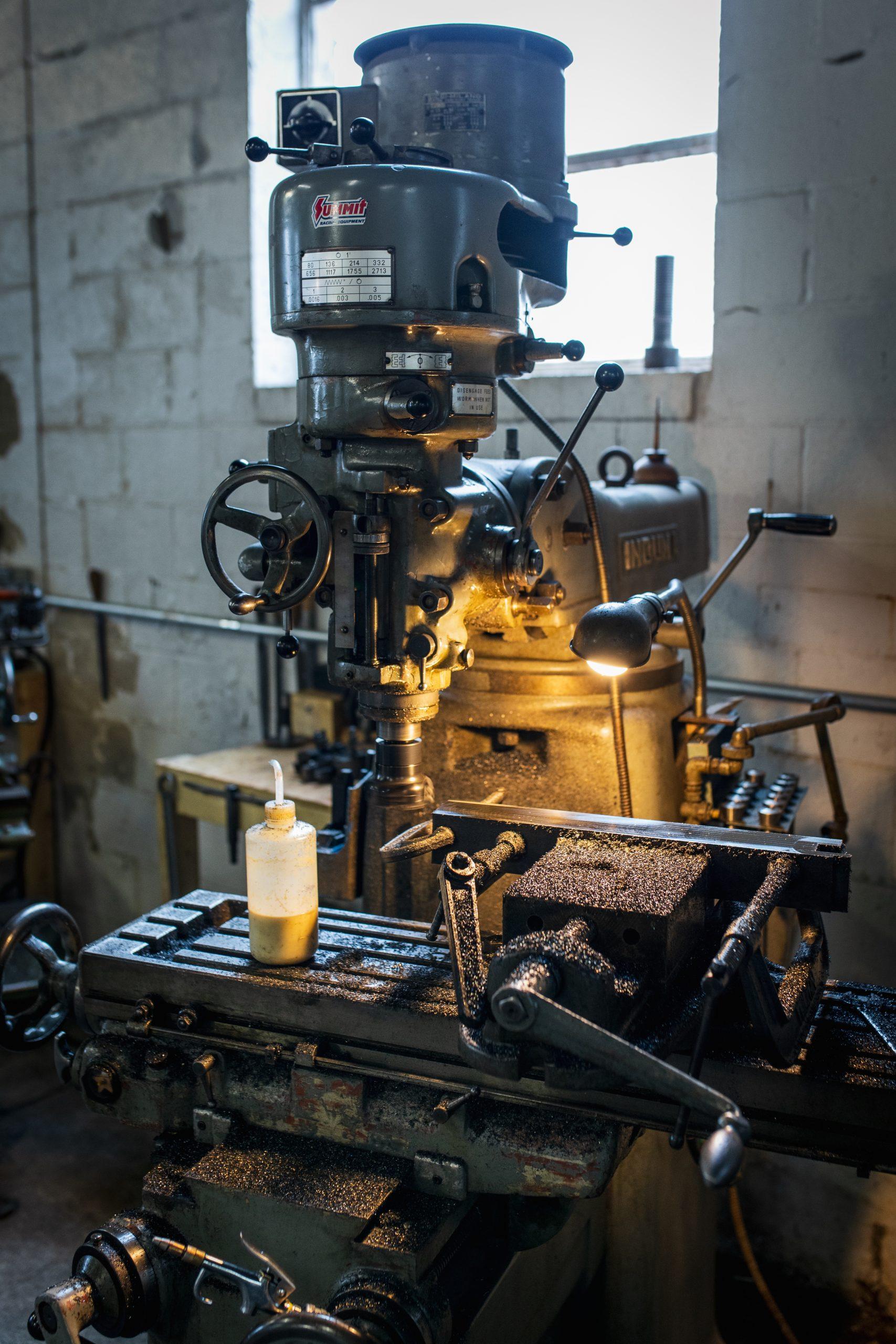 vintage drill press vertical