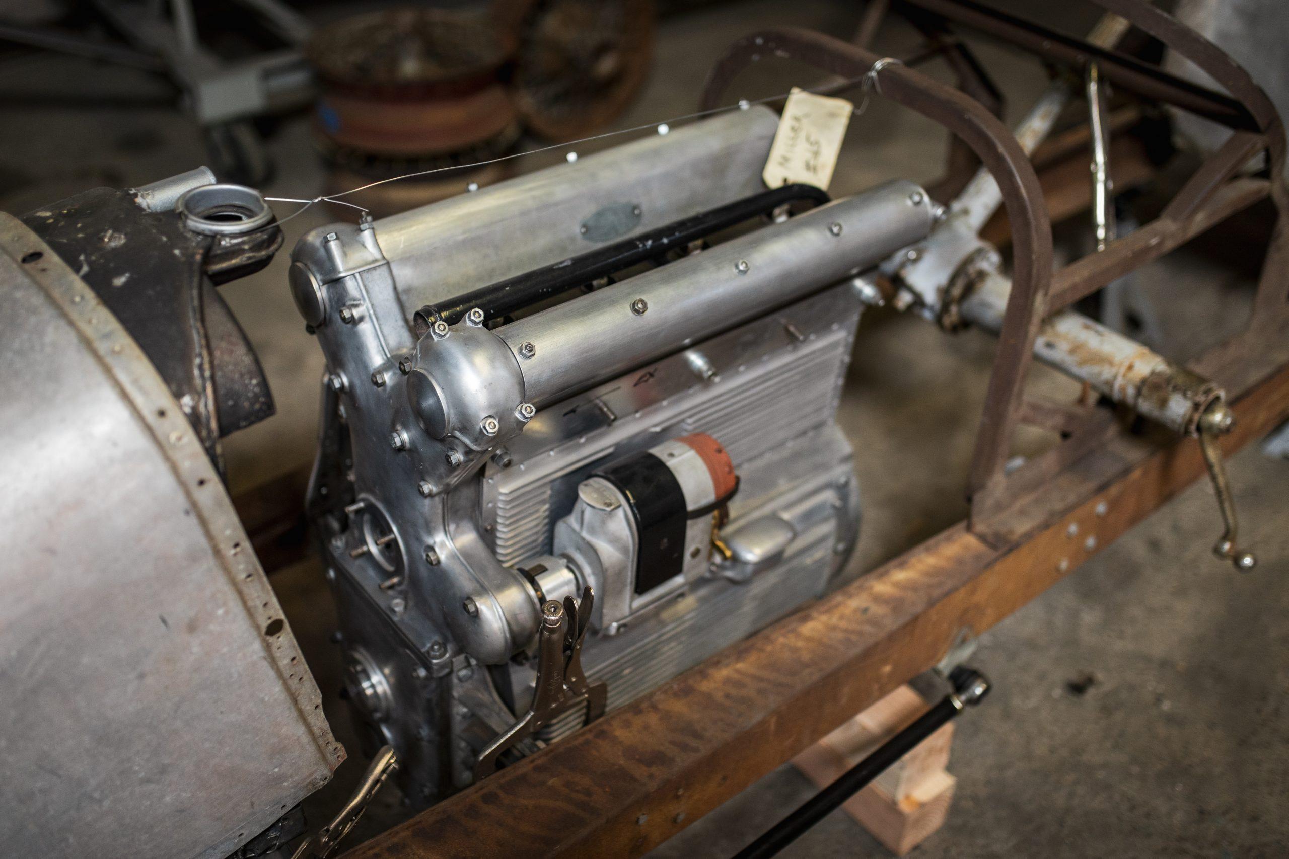 vintage racing engine