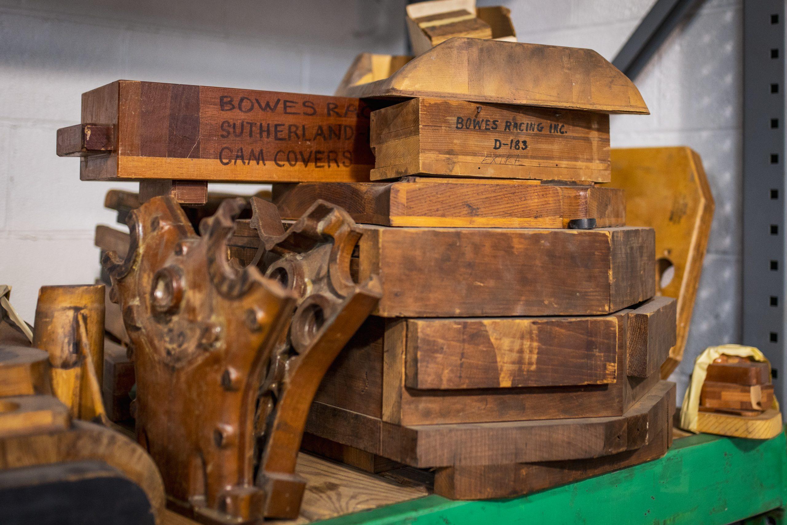 vintage bowes racing parts