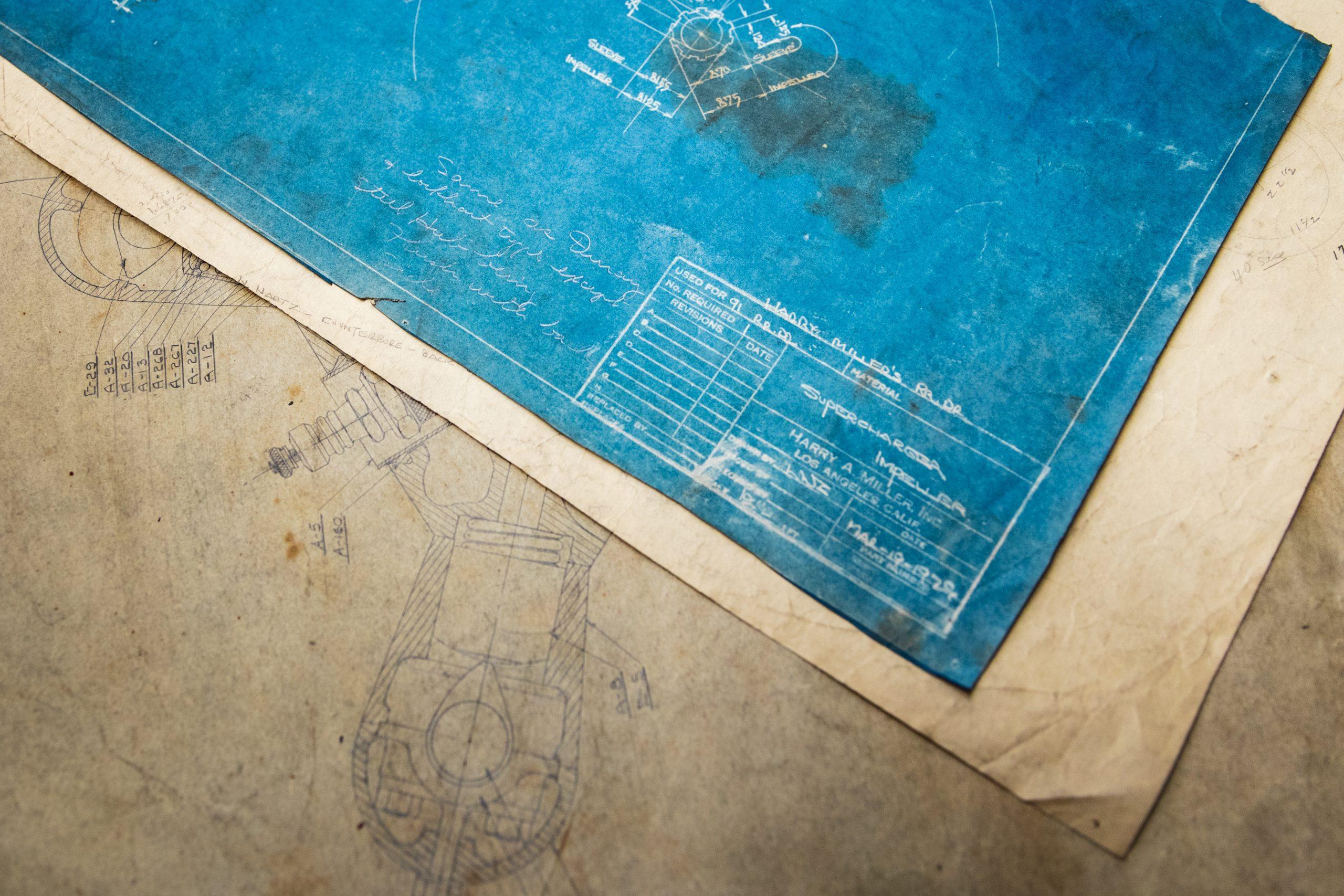 mechanical drawing draft