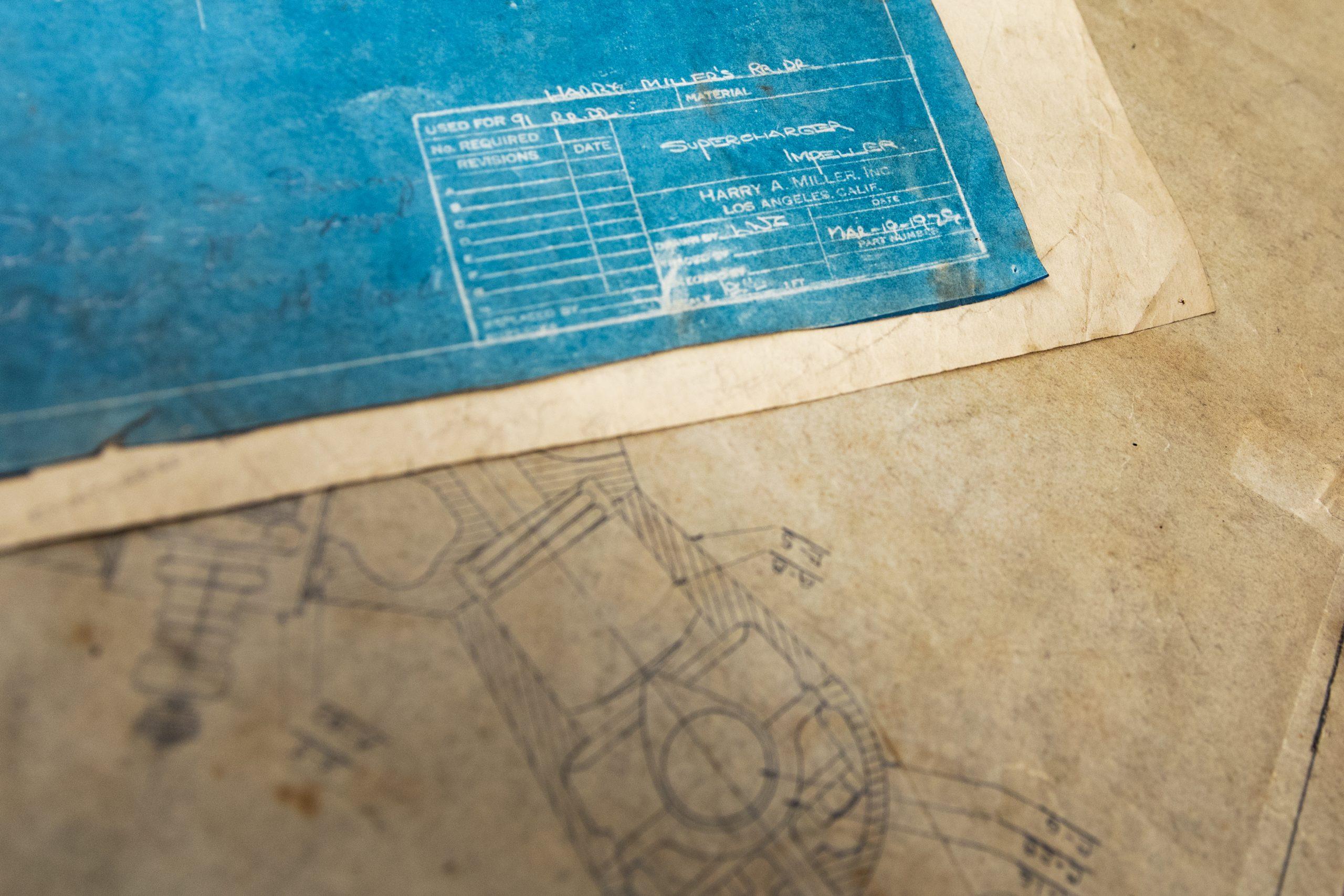 machine shop historical drawing drafts