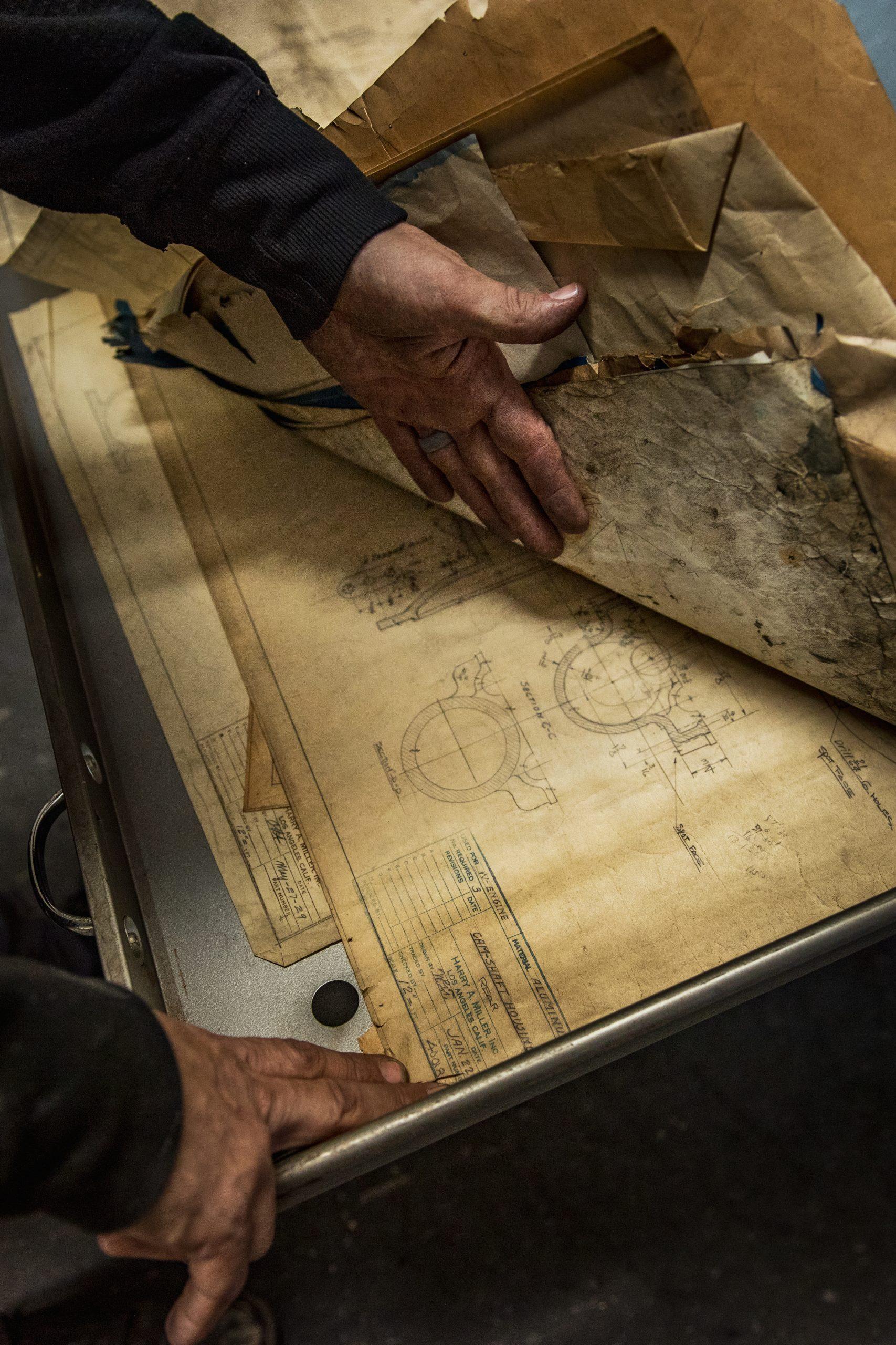 machine shop schematic drawings