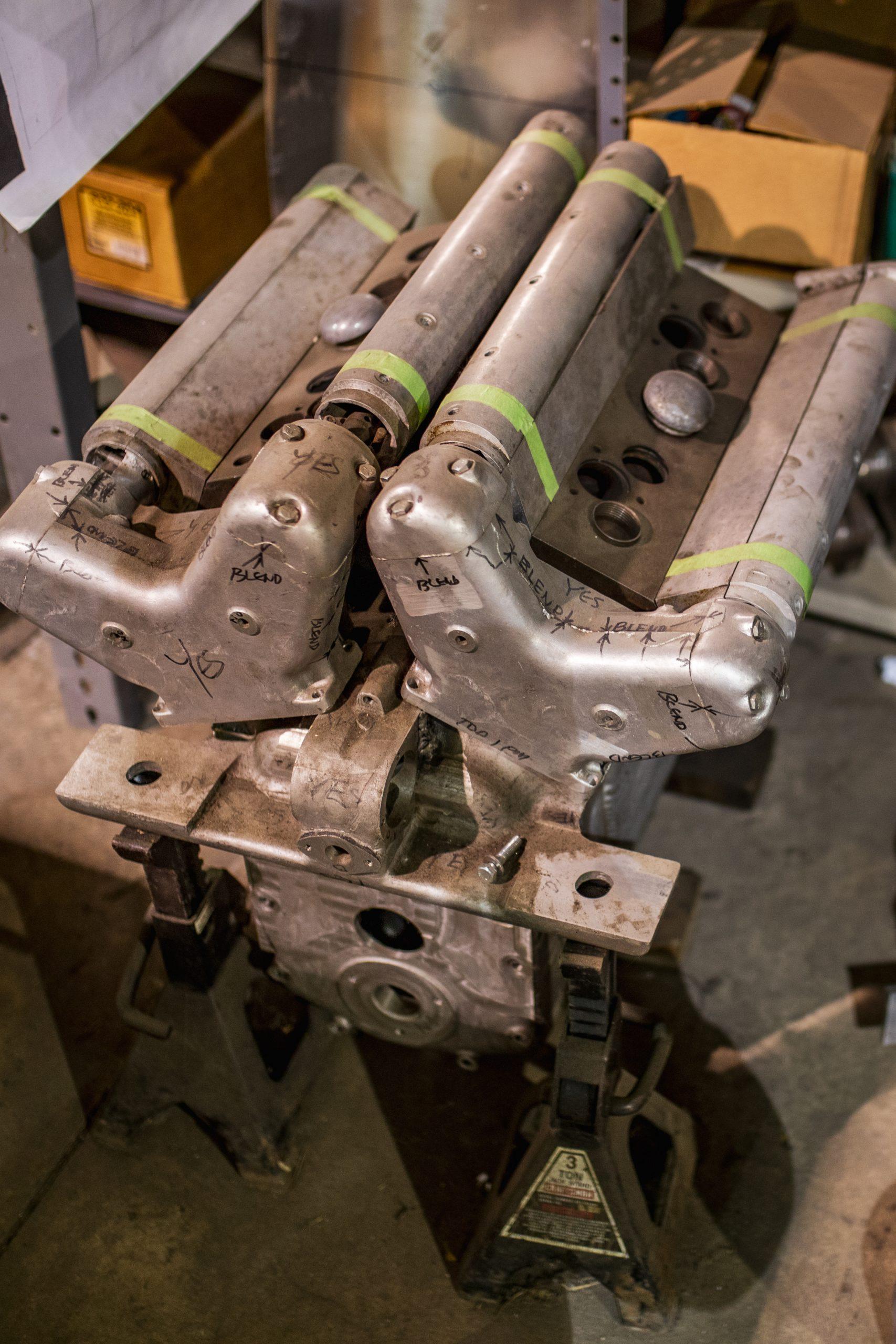 machine shop engine part