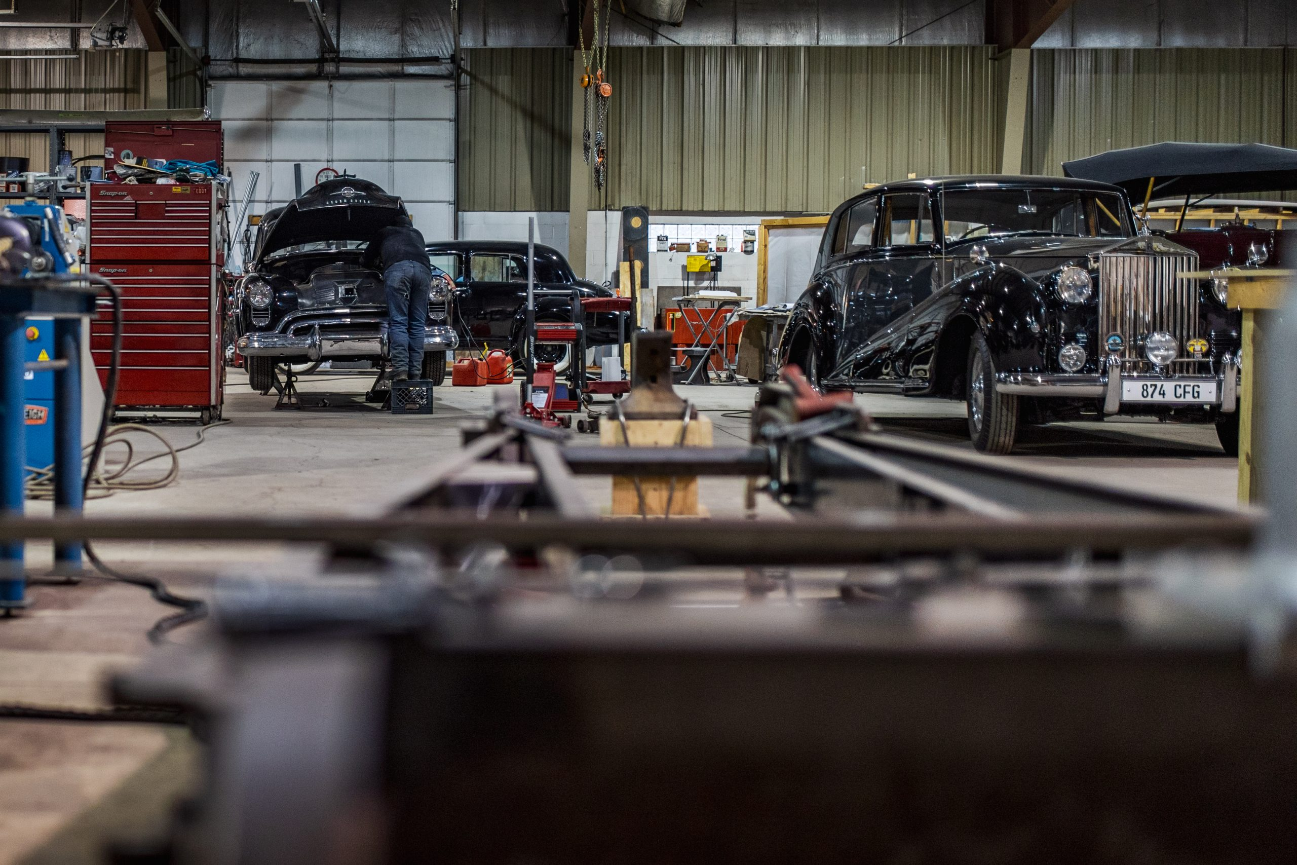 machine shop interior