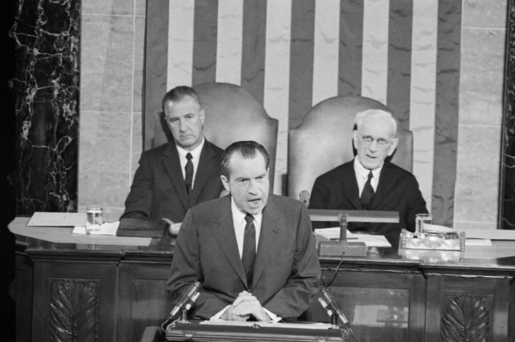 1970 president nixon first State of Union message
