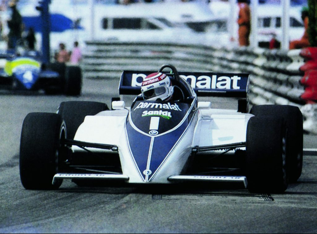 1983 formula 1 world champion nelson piquet brabham