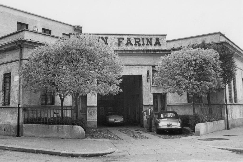 Sergio Pininfarina, Pininfarina factory, Turin, 15 April 1954.