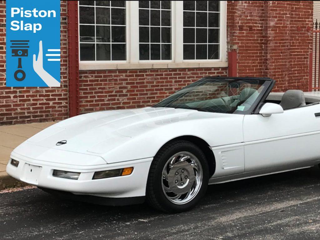 Piston Slap Optispark Lead white corvette front