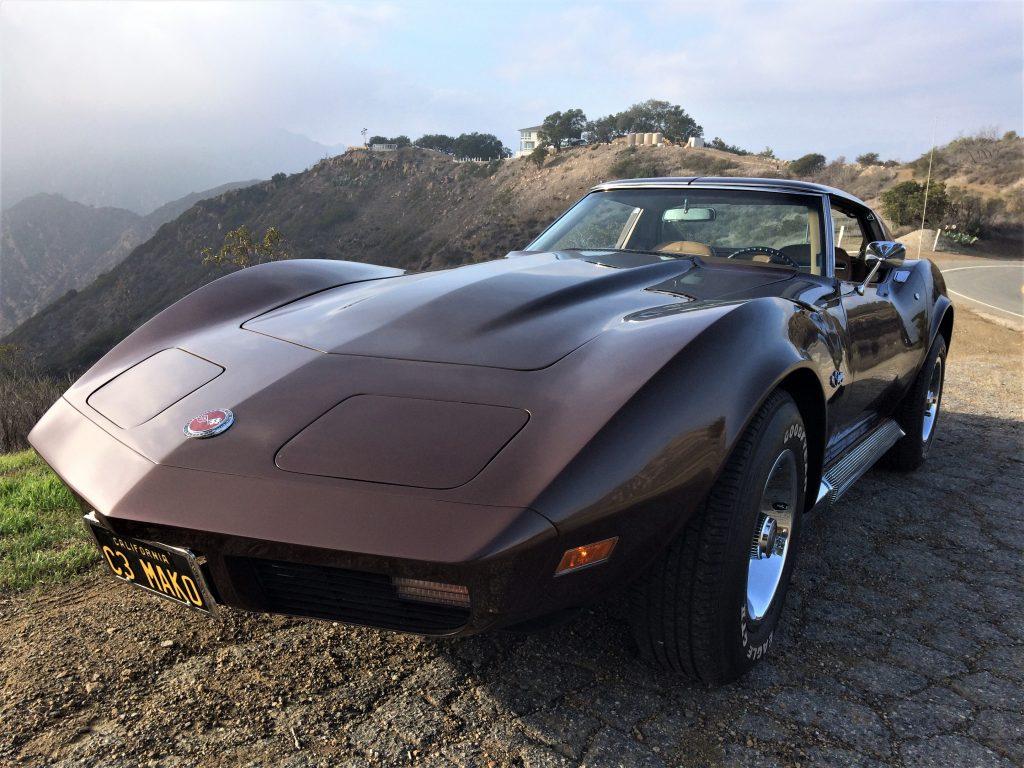 1974 Chevrolet Corvette cliff