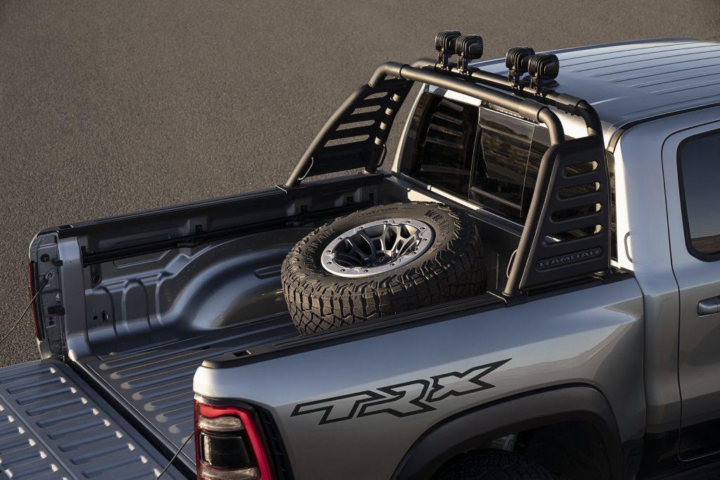 TRX Mopar accessories bed spare carrier