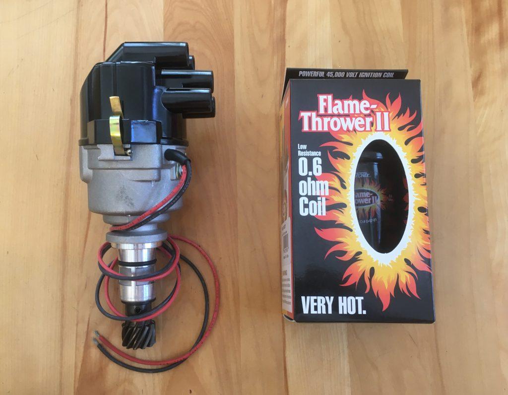 Rob Siegel - Distributor upgrade - new distributor and Flame Thrower II