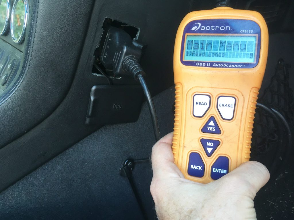 Rob Siegel - Right to Repair - OBD-II code reader