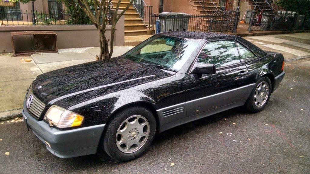 Rob Siegel - The Next Car - 1995 sl500 full drivers side