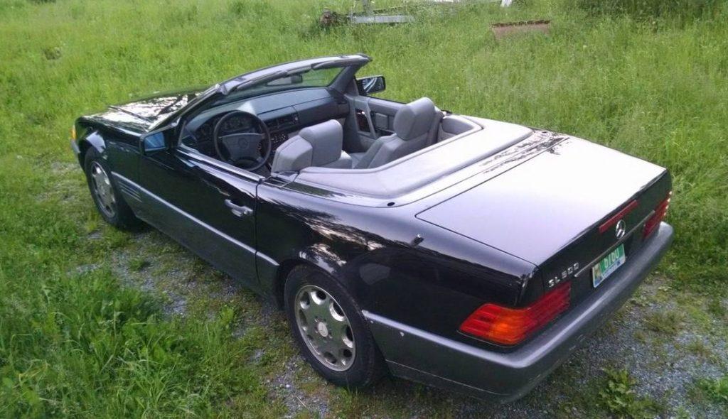Rob Siegel - The Next Car - 1995 sl500 rear