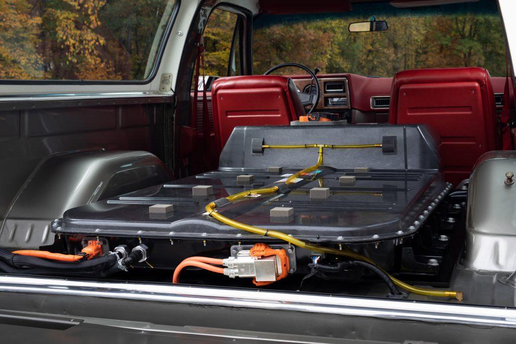 1977 Chevy K5 eCrate battery
