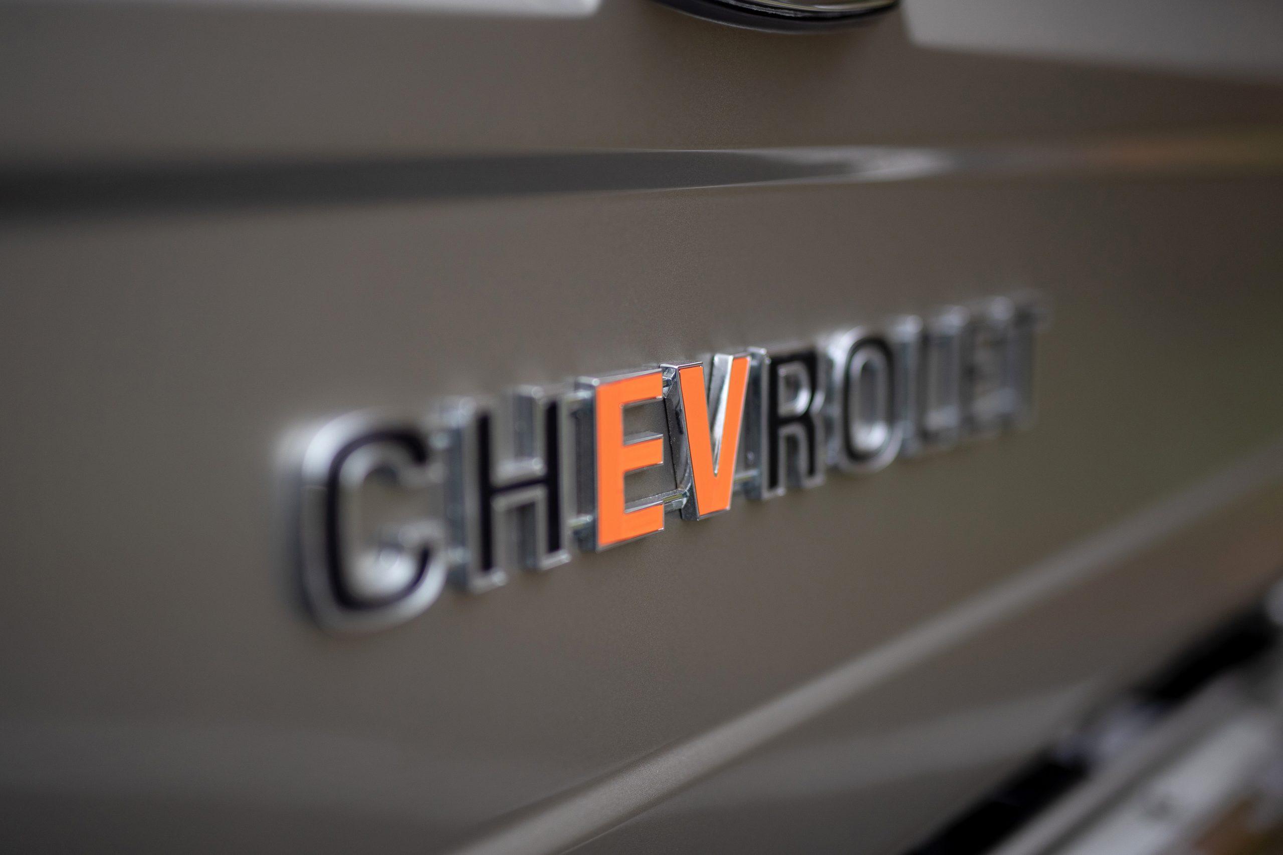 1977 Chevy K5 eCrate emblem