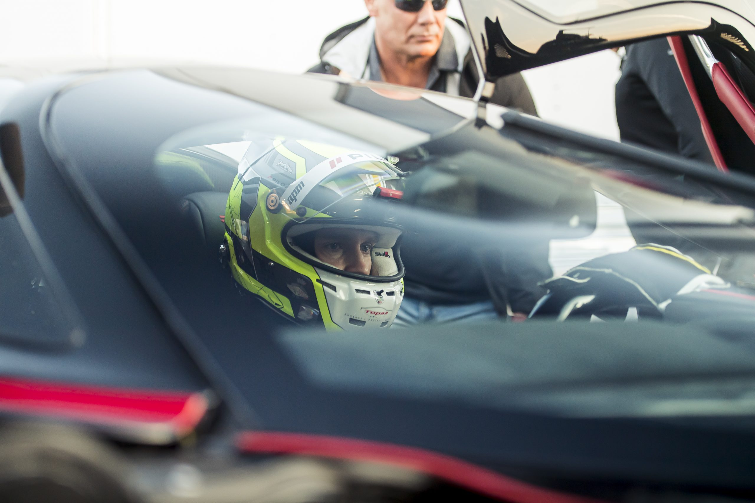 SSC Tuatara Production Car Speed Record driver behind wheel