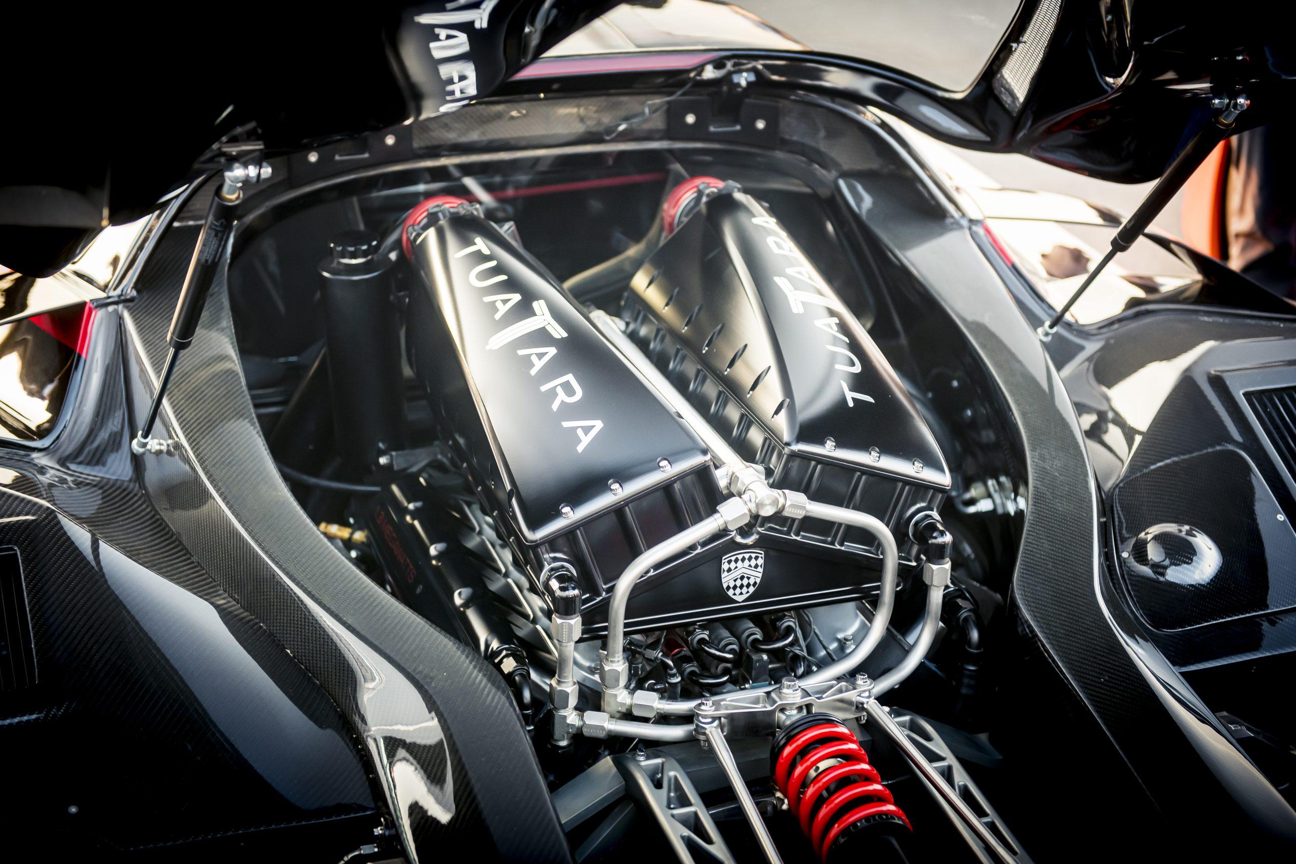 SSC Tuatara Production Car Speed Record engine
