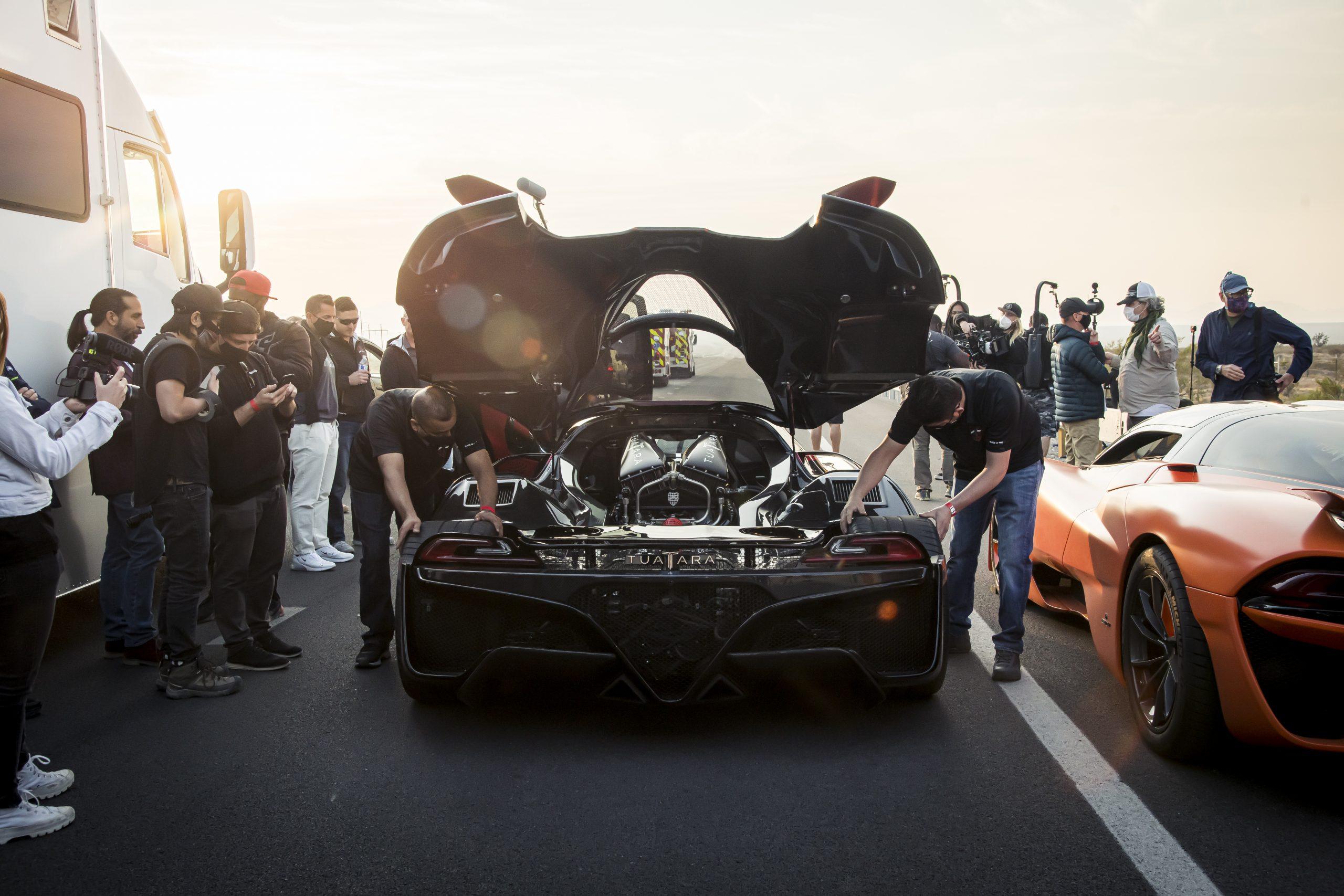 SSC Tuatara Production Car Speed Record rear