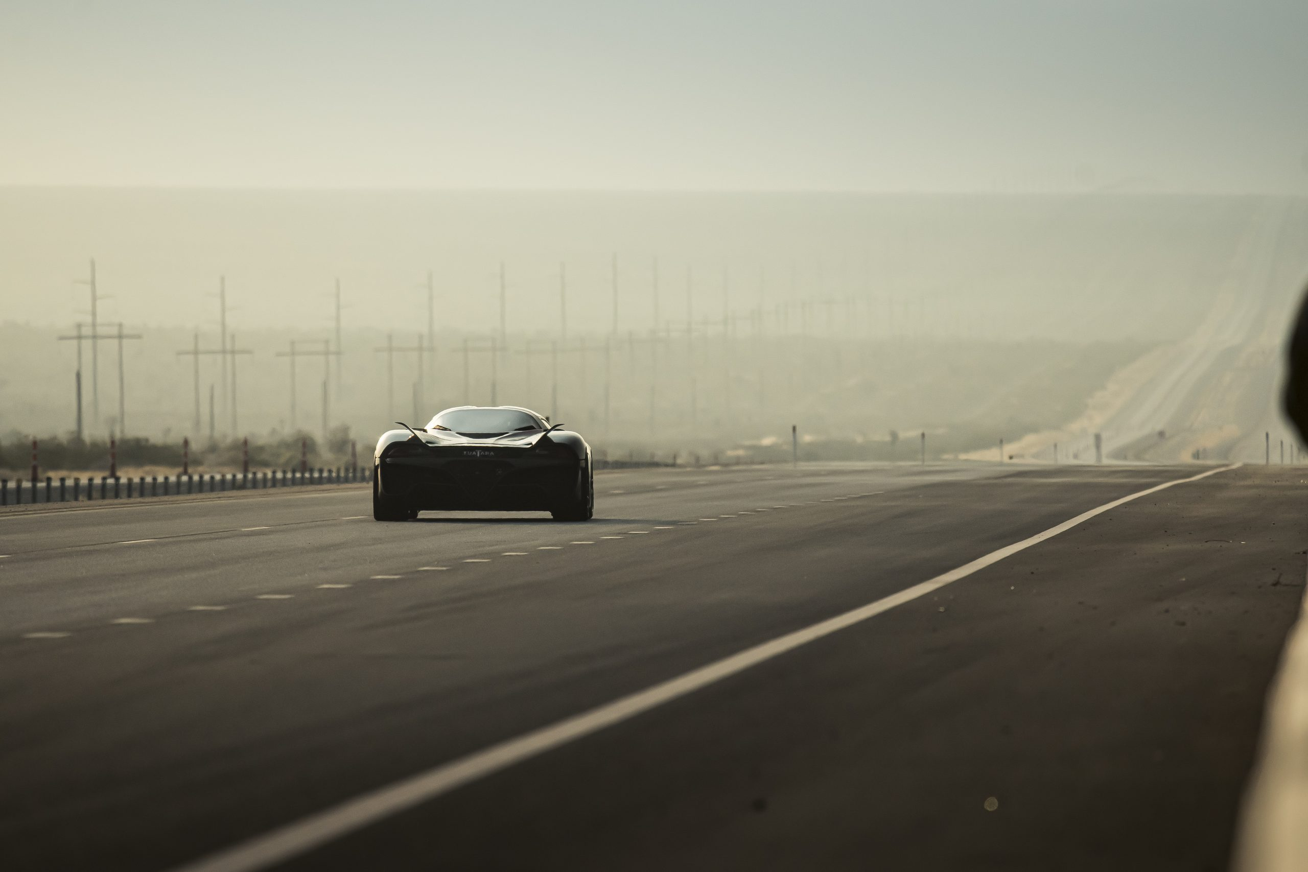 SSC Tuatara Production Car Speed Record action