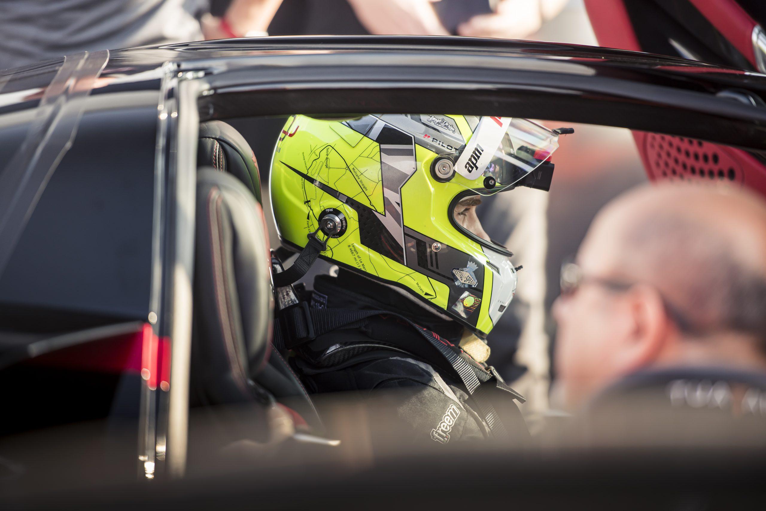 SSC Tuatara Production Car Speed Record driver waits