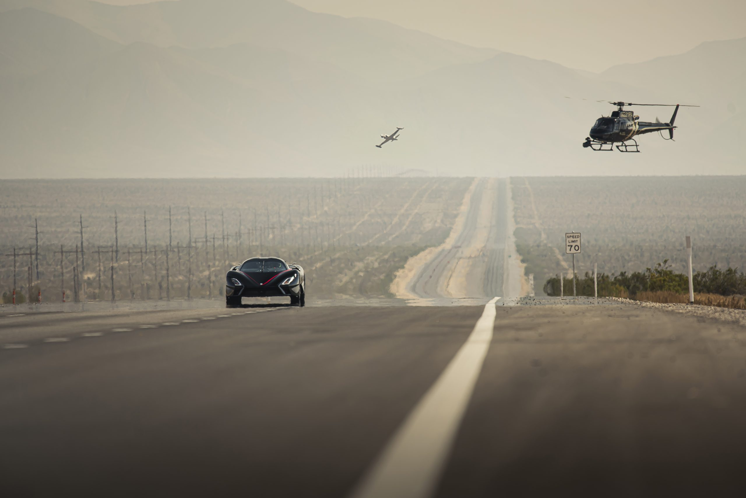 SSC Tuatara Production Car Speed Record action chopper cam