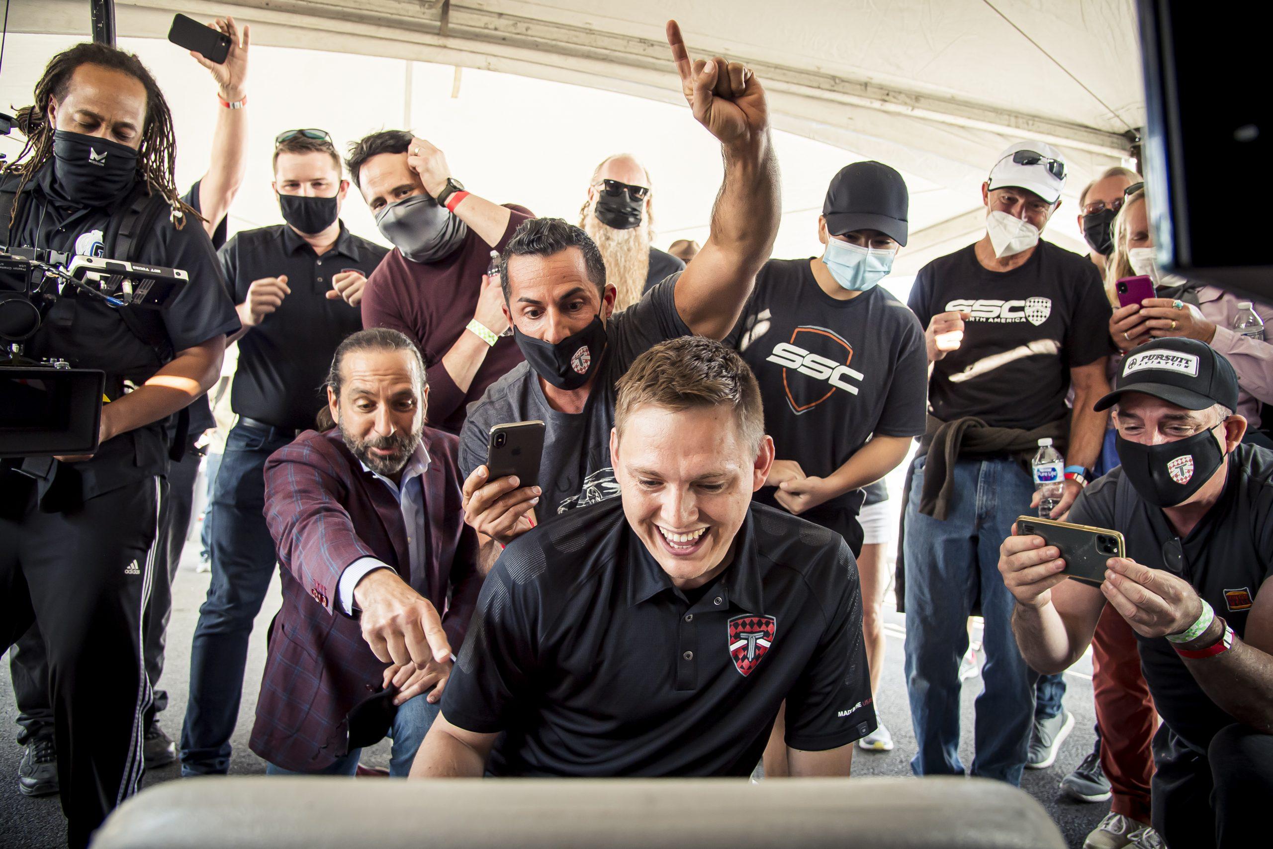 SSC Tuatara Production Car Speed Record team reaction