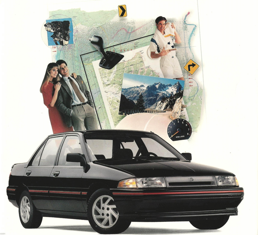 The 1991–96 Mercury Tracer LTS coulda been a Civic fighter