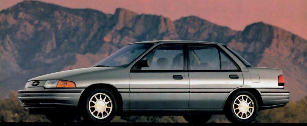 1993 Ford Escort LX-E