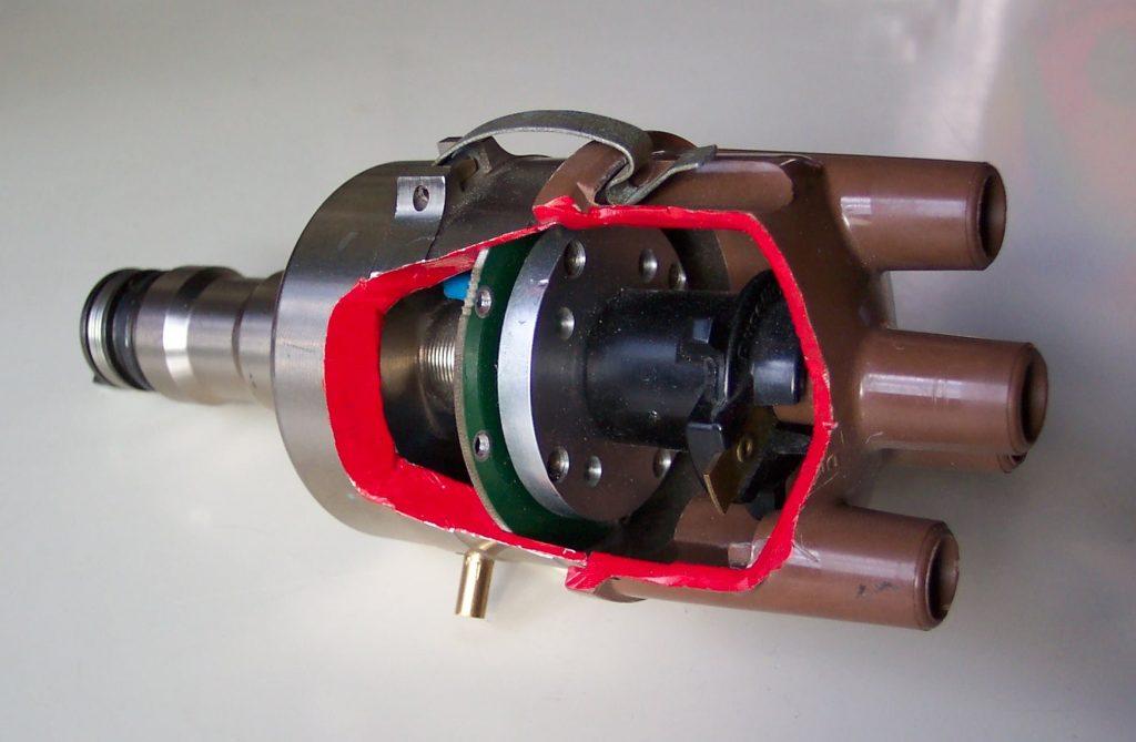 rob siegel 123 ignition distributor cut open internals