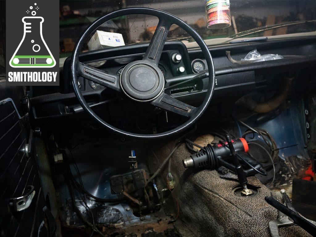 vintage bmw 2002 interior restoration