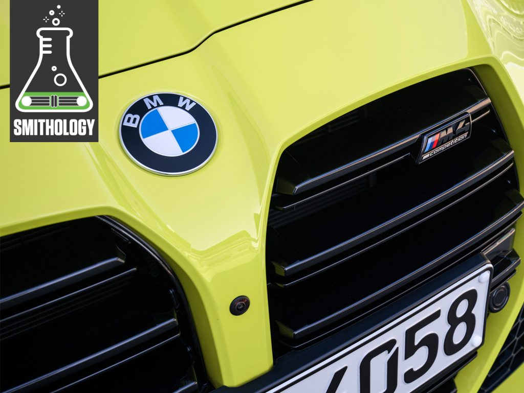 bmw m4 front grille detail