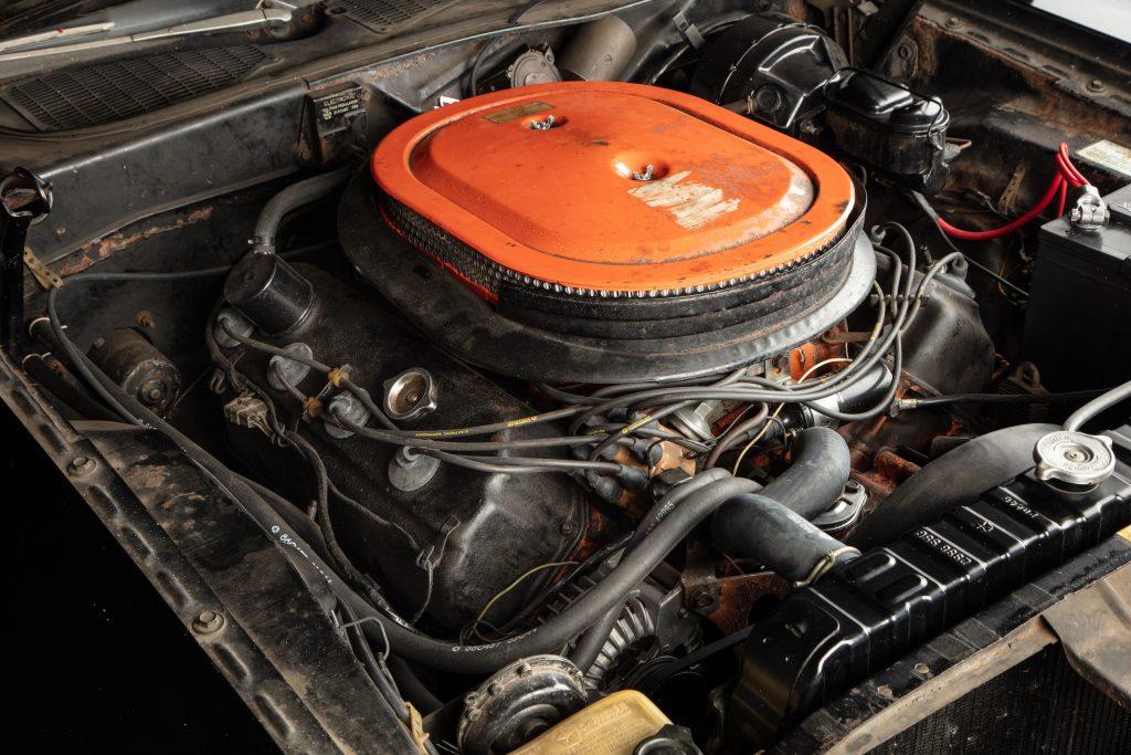 Challenger engine angle
