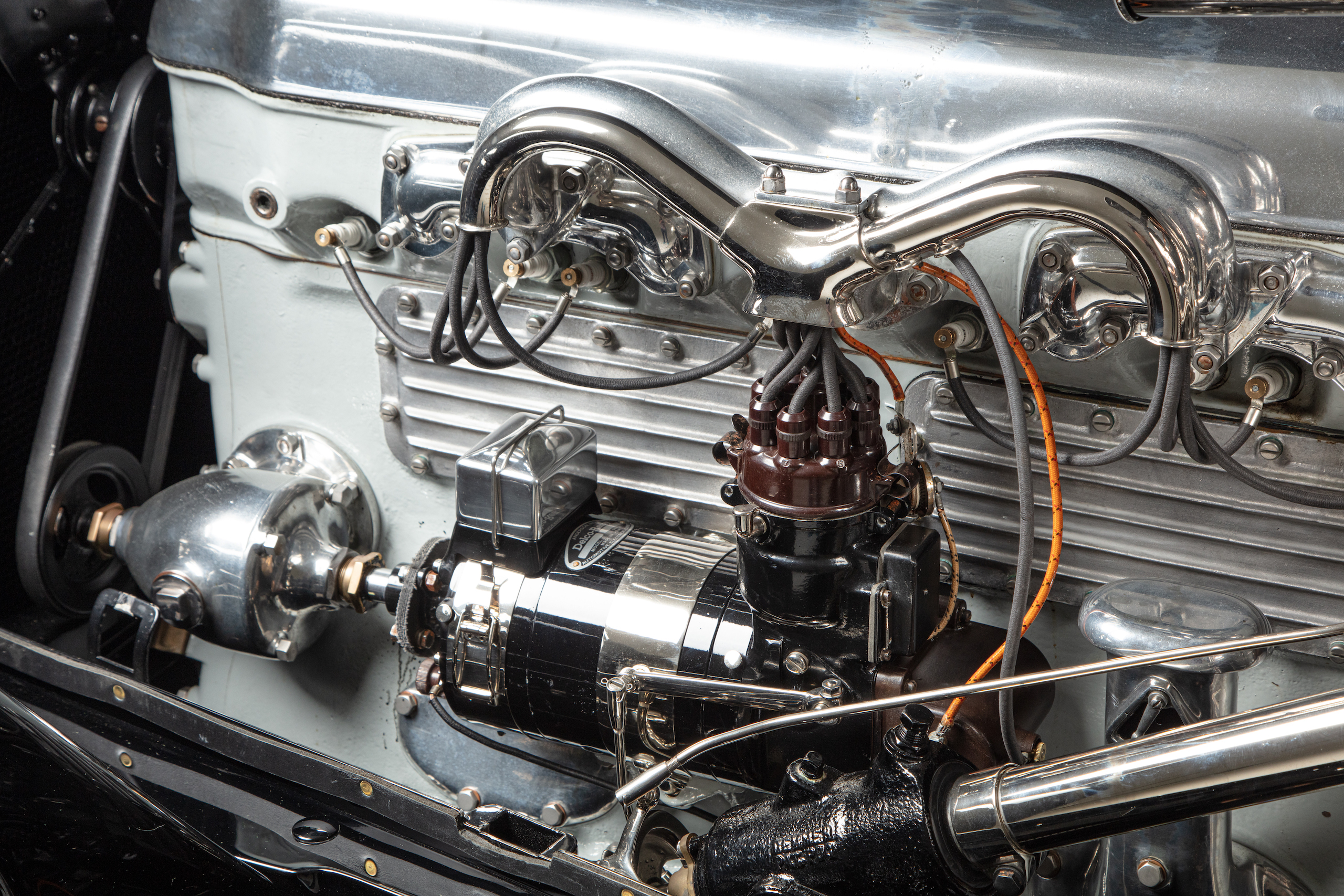 Duesenberg model A engine details