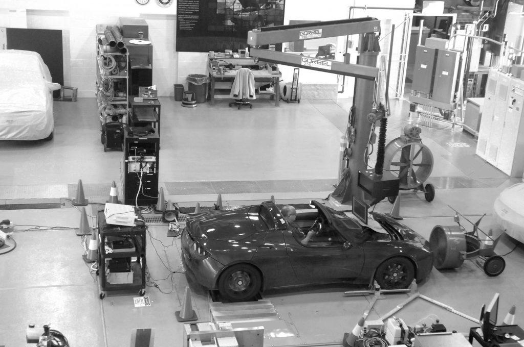 Testing Tesla Argonne National Lab